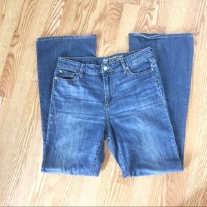 Gap High Rise Flare Blue Jeans Size 10/30 Regular